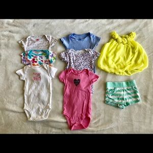 6-12 month old baby girl clothes